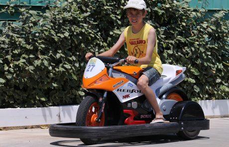 Circuit minis motos enfants à Torreilles